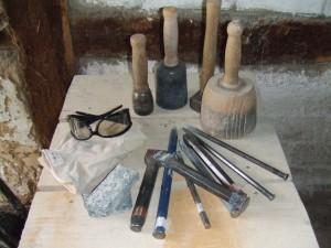 Bildhauerwerkzeug Bildhauerkurse im Wendland