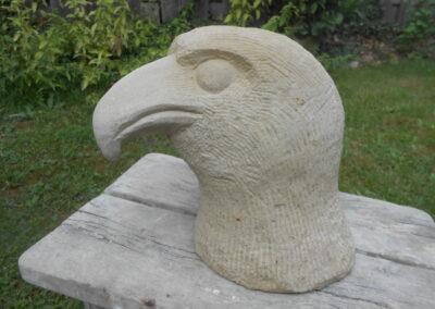 Adlerkopf - Anke - stein-art.net